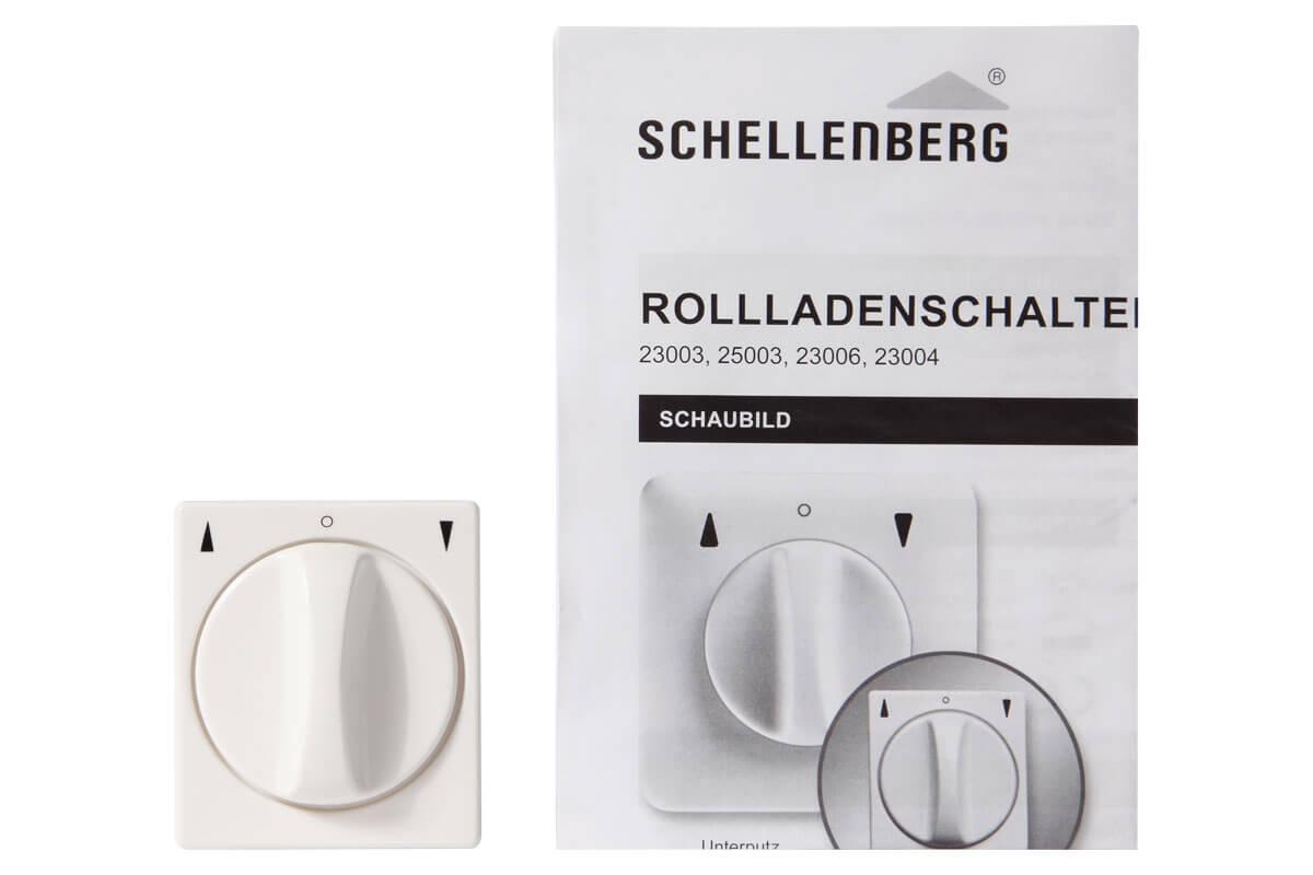 Schellenberg Rollladenschalter Aufputz Rollladenantriebe und Zubehör