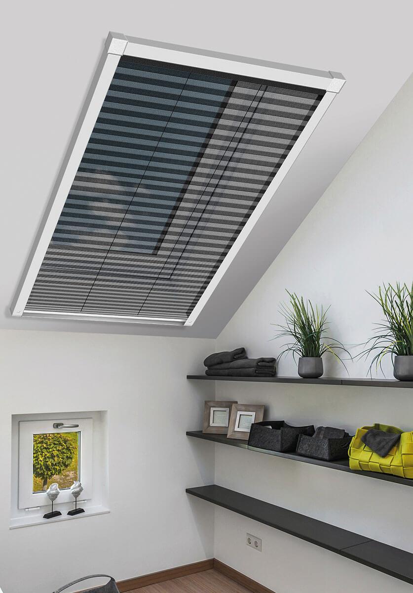 Insektenschutz Plissee Fur Dachfenster Schellenberg Shop