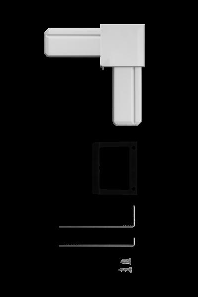 eckverbinder set f r fenster t ren system premium schellenberg shop. Black Bedroom Furniture Sets. Home Design Ideas
