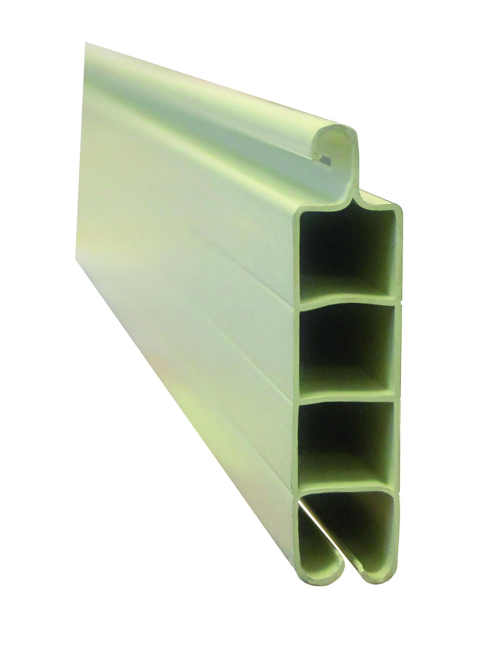 Rollladenprofil Aus Kunststoff 2m Beige F R Spanien