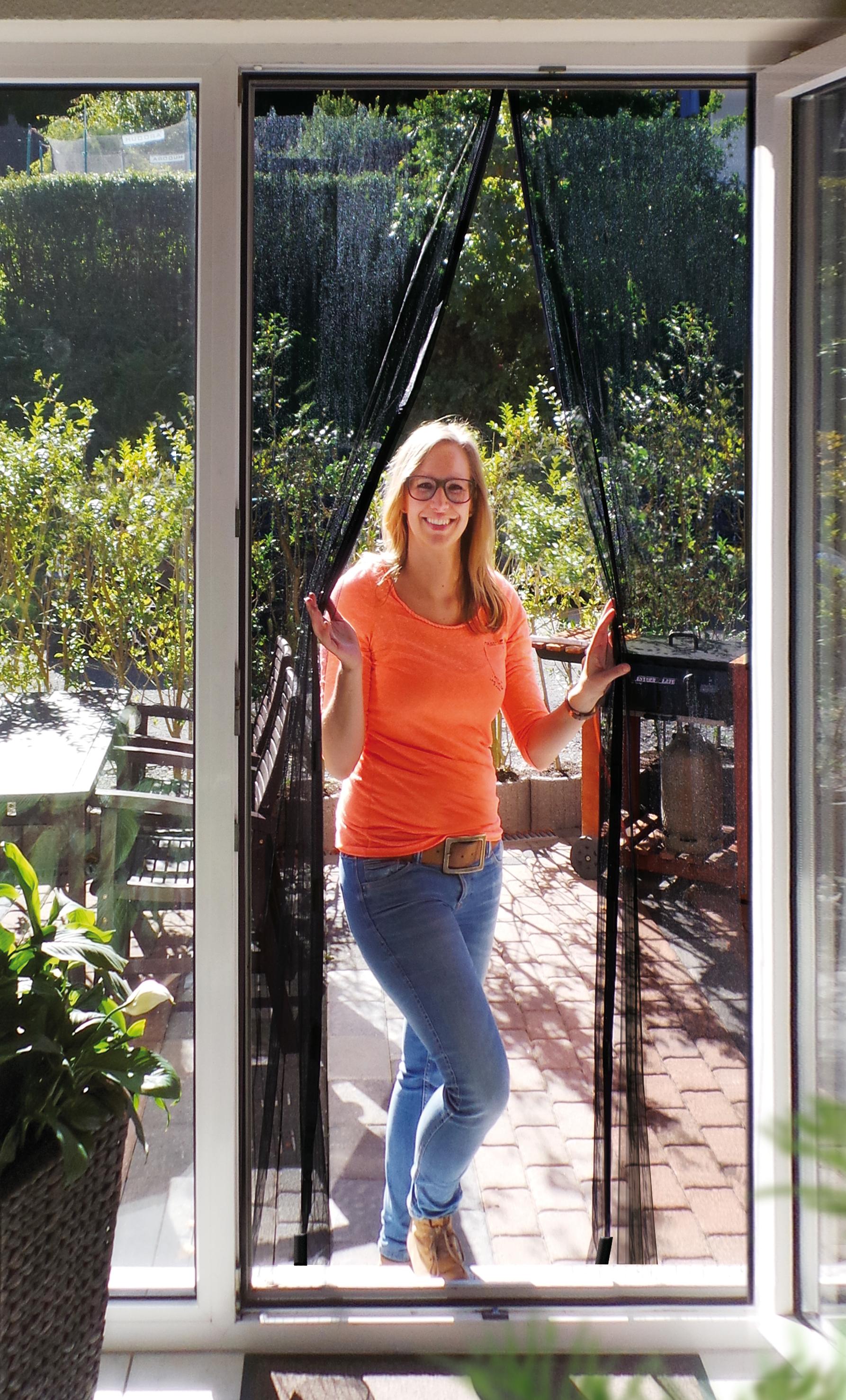 insektenschutz magnetvorhang anthrazit schellenberg shop. Black Bedroom Furniture Sets. Home Design Ideas