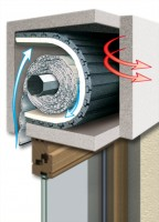Rolladenkasten-Dämmung einteilig, 100x50 cm /25 mm