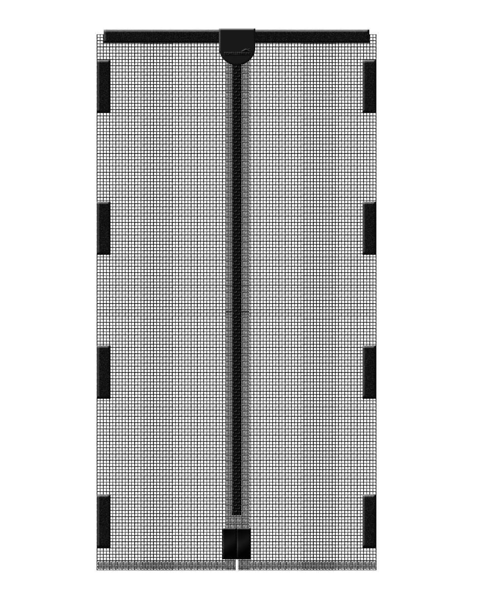 insektenschutz-magnetvorhang anthrazit | schellenberg-shop