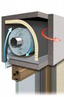 Rolladenkasten-Dämmung 2teilig, 100x50cm/ 13mm Rollladenkasten-Dämmung 2teilig, 100x50cm/ 13mm
