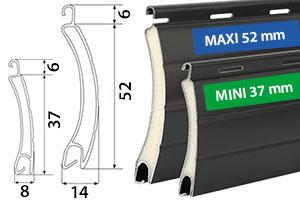 Rollladensystem Mini oder Maxi